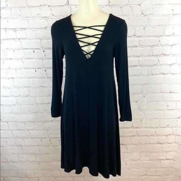 AE Soft & Sexy Black Dress Sz Small
